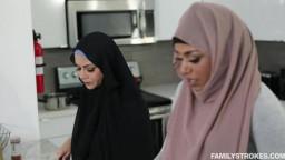 Familystrokes  Milu Blaze Pleasuring My Stepsister In Her Hijab