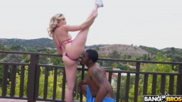 MonstersOfCock - Katie Kush - Katie Kush Gets Gifted A Big Black Cock