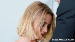 Private  Anastasia Brokelyn Horny In The Office
