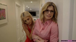 MomsTeachSex Cory Chase Tallie Lorain - Mom His Dick Is Stuck In A Vacuum Cleaner