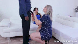 Private  Daphne Klyde And Nikky Dream Share A Lucky Stud