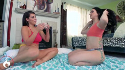 Houseofyre  Mandy Muse And Valentina Jewels Stepsisters Slumber Party
