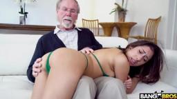 Bangbros18 Kira Perez - Kira Gets Pounded By Grandpa