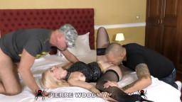 WoodmanCastingX Roxy Risingstar My First DP Was With 3 Men