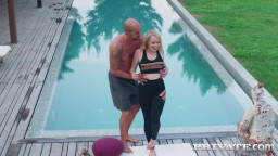 Private Chrystal Sinn Yoga Instructor Likes It Outdoors