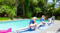 Bffs Lea Lee Kenzie Madison And Katie Kush Gymnasdick Training