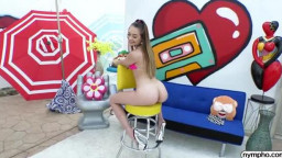 Nympho Sera Ryder - Pussy Stretching Session