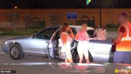 Bang RoadSide Ava Lynn And Juliett Russo