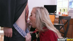 MomIsHorny - Brandi Love, Kenzie Reeves - Halloween Special With A Threesome