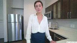 PervMom Olive Glass - Learning With Step Mom