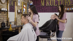 Private Anya Krey And Clea Gaultier - Orgy At The Salon