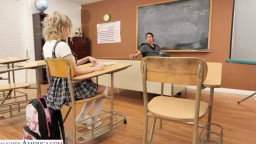 NaughtyBookworms Coco Lovelock, David Lee - Coco Lovelock feels naughty and fucks her Professor in detention