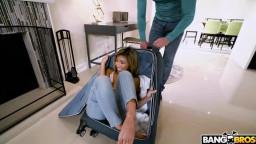 BangBros18 Clara Trinity - Suitcase Sex Surprise