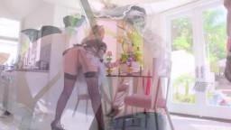 Julesjordan Nikki Benz - Big Boob French Maid Nikki Benz Services Mandingo's Big Black Cock