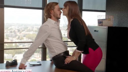 My Wifes Hot Friend - Lexi Luna wants to fuck her friend's husband in the office!!!