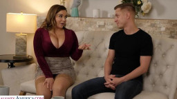 My Girlfriends Busty Friend - Alex misses Natasha Nice's massive tits bouncing on his cock!!