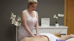 MassageRooms - Georgie Lyall Big tits British blonde creampie