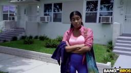 BangBus Maya Farrell - College Girl Fucks Hard For Help