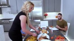 FamilyStrokes - Phoenix Marie - Army Boy Meets Busty Stepmom For Thanksgiving