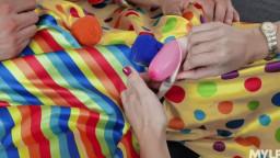 MYLF Alana Cruise - Horny Clown Dick Down
