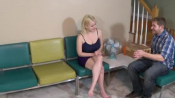 FamilyTherapy Nadia White Big Boobed Sister Controlled & Creampied