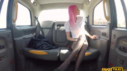 FakeTaxi - Roxy Lace - Pink Haired MILF Repays The Favour