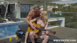 Private Amaris Poolside Fucking