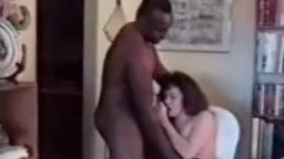 Cuckold Archive white MILF and her black bull Hubby sissy
