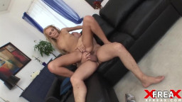 Big Cock for Blond Slut