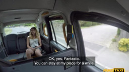 FakeTaxi - Candice Demellza - Abandoned Girlfriend Fucks Big Cock